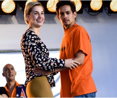 Scènefoto Gek van Oranje